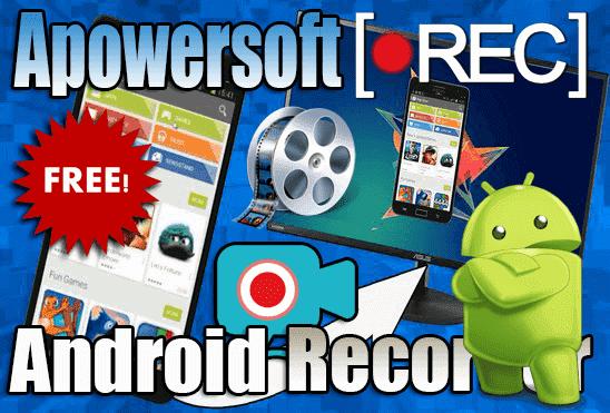 تحميل وتفعيل برنامج Apowersoft Android Recorder لتصوير وعرض شاشة الاندرويد على الكمبيوتر