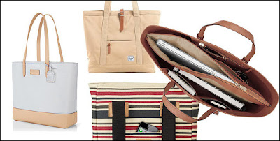 Tote Bag With Laptop Compartment