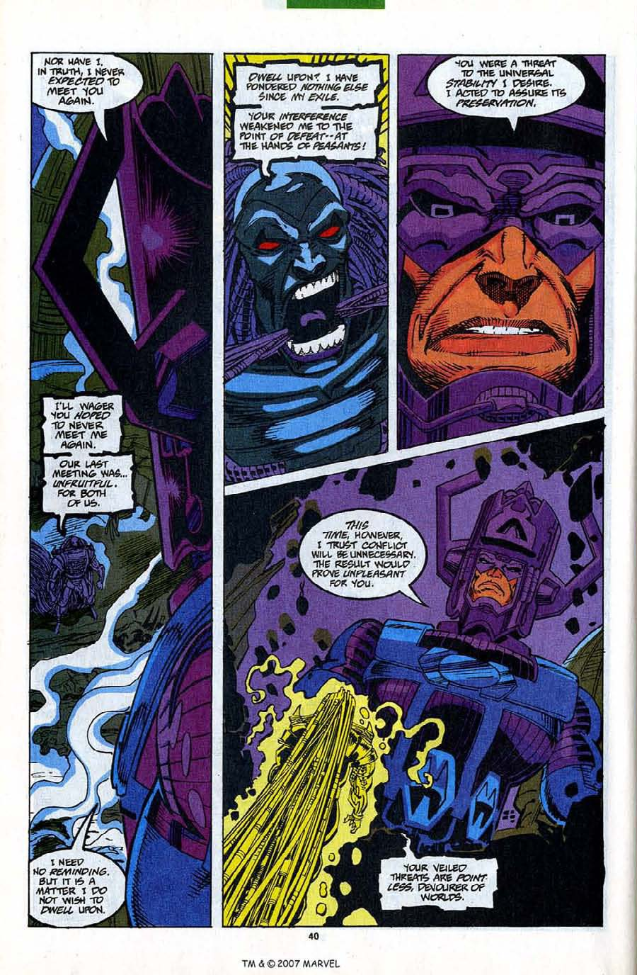 Read online Silver Surfer (1987) comic -  Issue #82 - 42