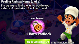 FarmVille 2: Country Escape, Chef jumping for joy