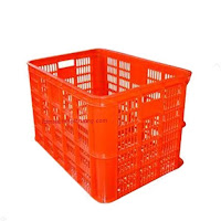 Sóng nhựa cao 390, sóng nhựa rỗng, rổ nhựa công nghiệp có bánh xe giá rẻ