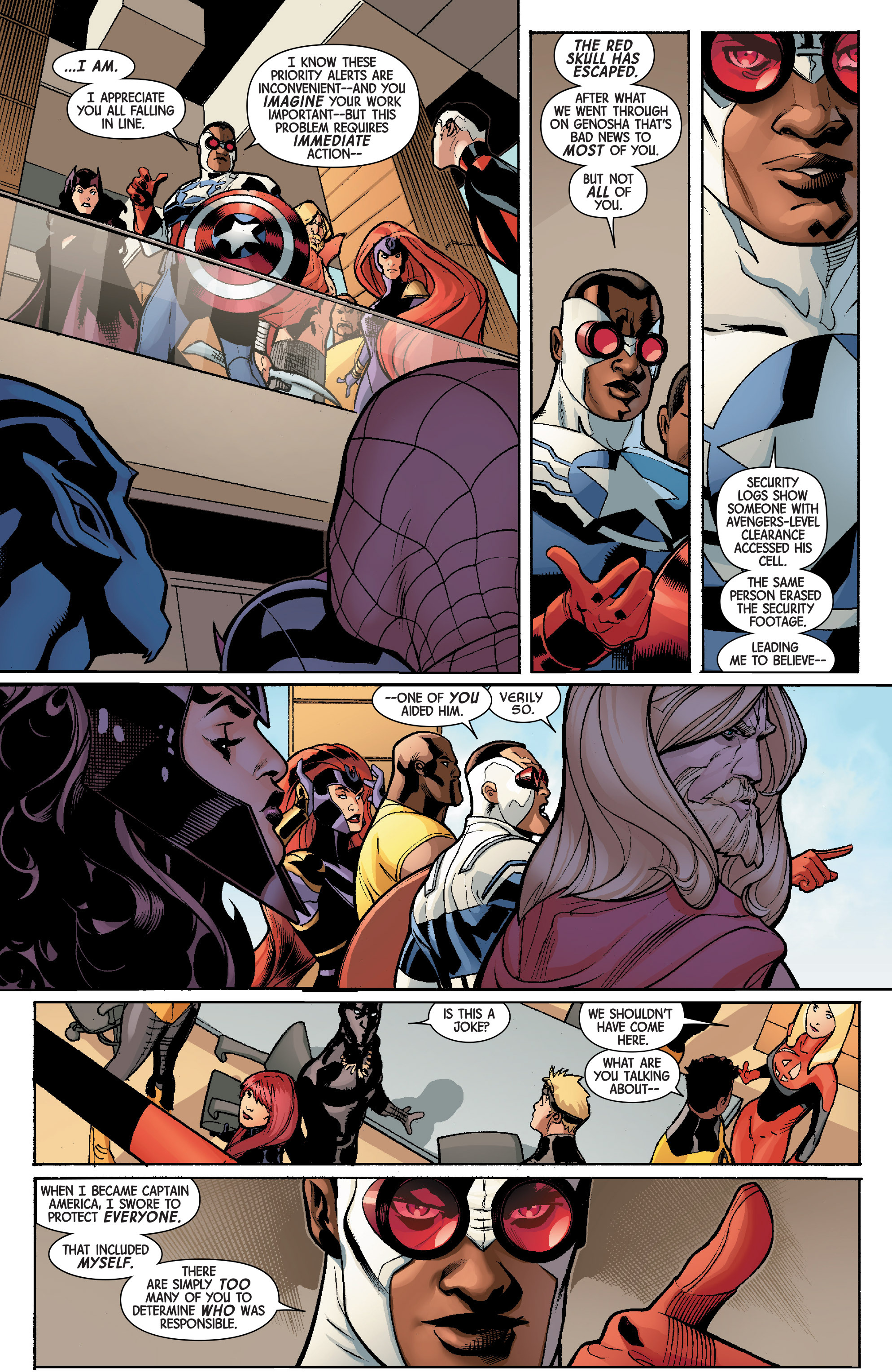 Read online Avengers & X-Men: AXIS comic -  Issue #5 - 7