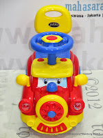 Ride-on Car Pliko PK556 Train Dreamcar Keeping Mobil Mainan Anak