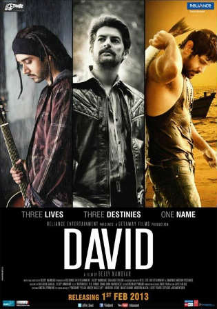 David 2013 WEB-DL 1GB Full Hindi Movie Download 720p watch Online Free bolly4u
