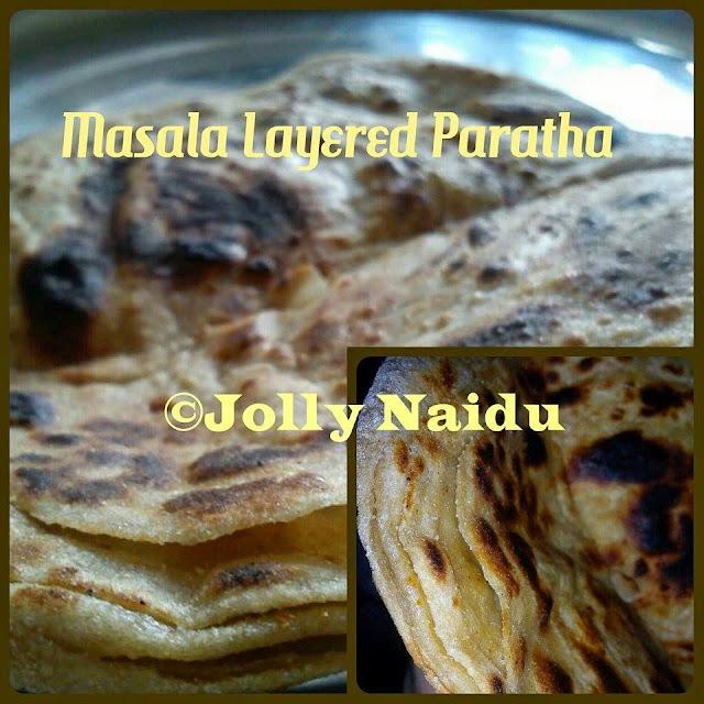 Homemade Masala Layered Paratha | Lachha Paratha
