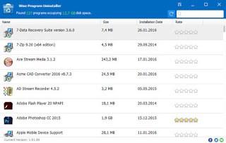 Wise Program Uninstaller 2.22 Build 117