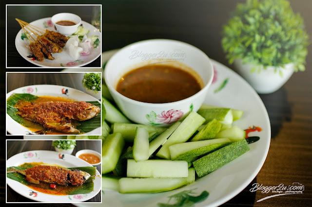 Menu lazat di Restoran Ayam Kampung Velodrome Premium Outlet