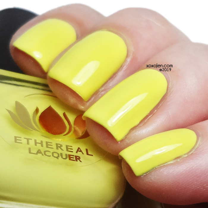 xoxoJen's swatch of Ethereal Lacquer Juicy
