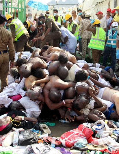 nigerians killed mina saudi