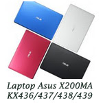 Asus X200MA KX436/437/438/439 Intel Core Duo N840