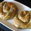 Greek Spinach Pie with Homemade Filo Pastry (Spanakopita)