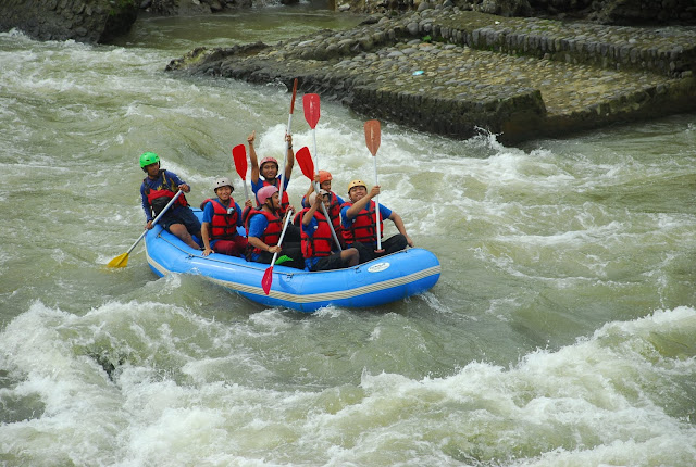 banjarnegara, the pikas, rafting