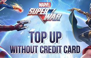 Cara mudah melakukan top up di game Marvel Super War tanpa Credit Card. Dalam metode kali ini kamu bisa memilih ATM Transfer Bank Indonesia dan Indomart atau Alfamart.