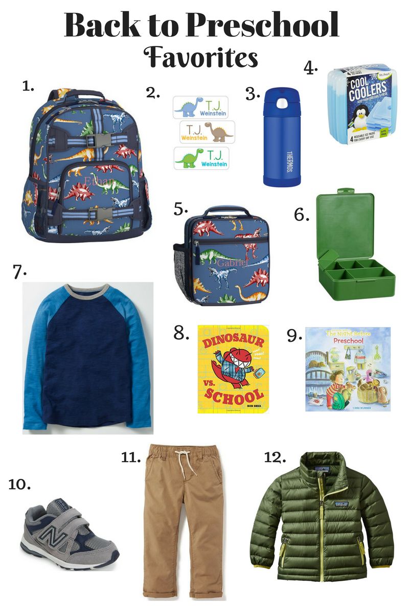 Back to School Favorites