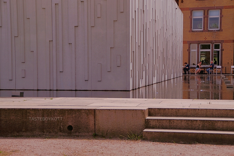 Museum, Café und Veranstaltungsort auf der Anlage der Stiftung Wasserkunst Elbinsel Kaltehofe, Hamburg
