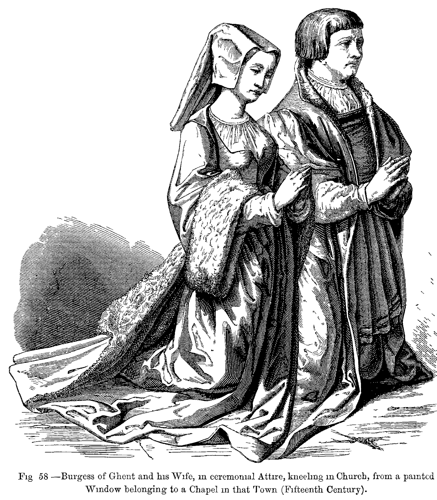 from my reference books: Custom and Dress During the Middle Ages and During the Renaissance Period