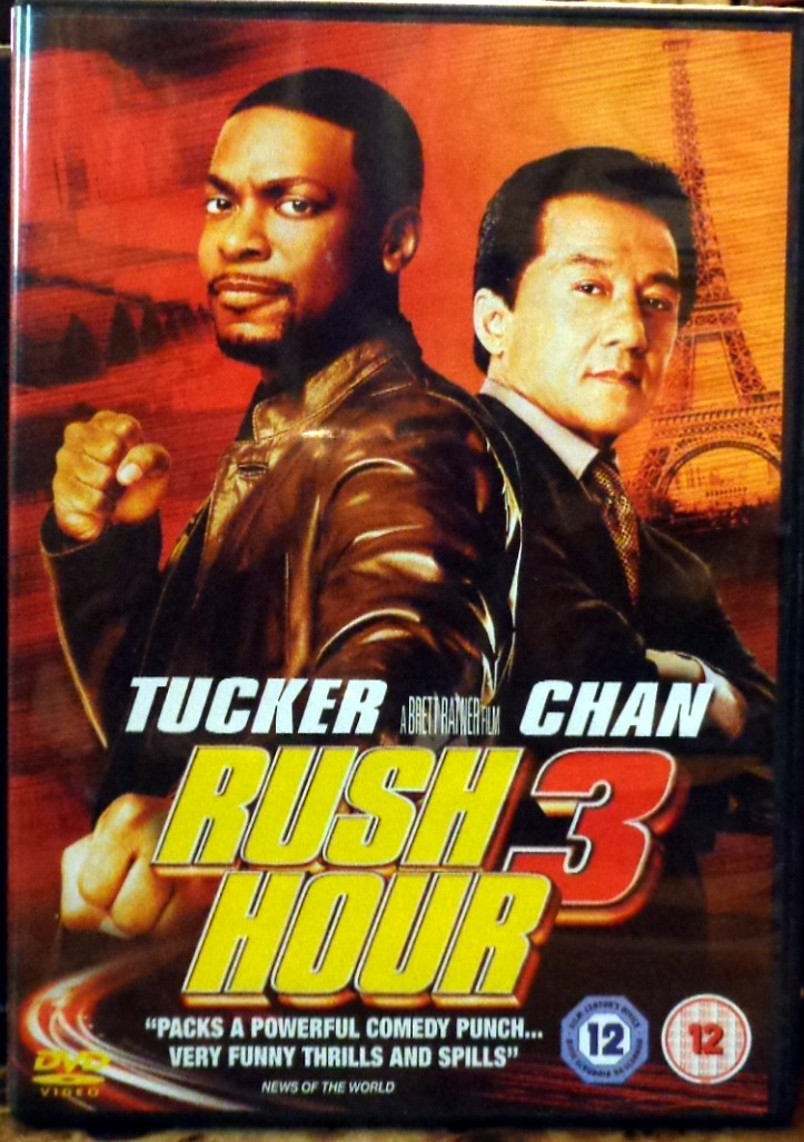 Movies On Dvd And Blu Ray Rush Hour 3 2007