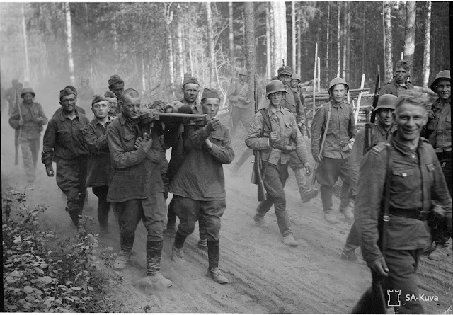 Soviet prisoners in Finland 2 July 1941 worldwartwo.filminspector.com