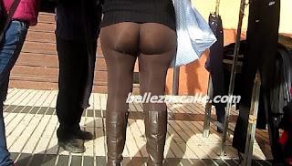 Maduras buenas nalgas leggins