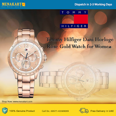 Tommy Hilfiger Dani Horloge Rose Gold Watch for Women
