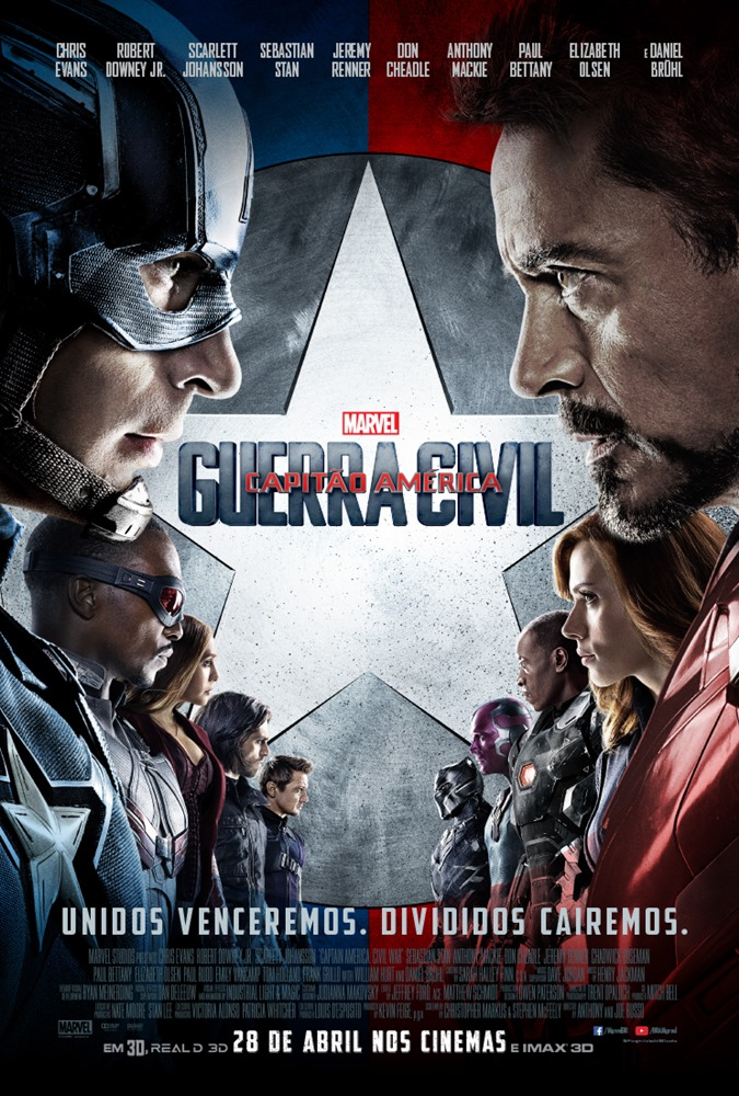 Captain America: Civil War [Capitão América: Guerra Civil]