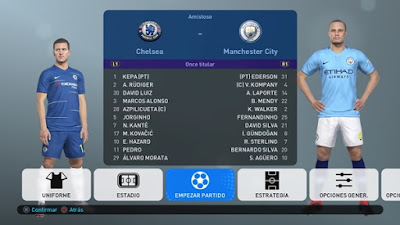 PES 2019 PS4 PeSoccerWorld Option File 2019 Season 2018/2019