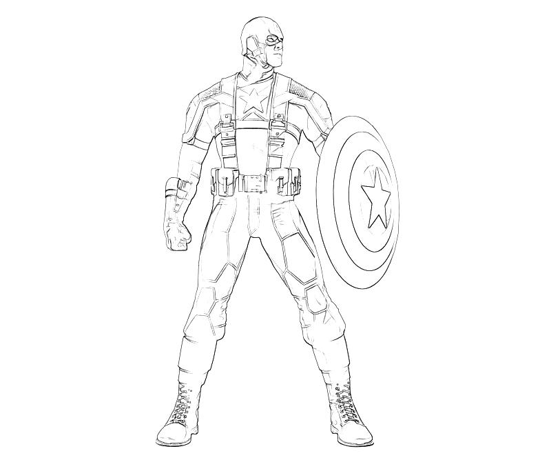 Captain america winter soldier coloring pages ~ captain america coloring pages