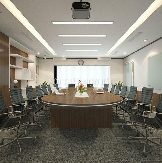 Thiết kế nội thất phòng họp đẹp - H2