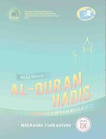 Buku Siswa K13 Al Quran Hadits Kelas 9 MTs