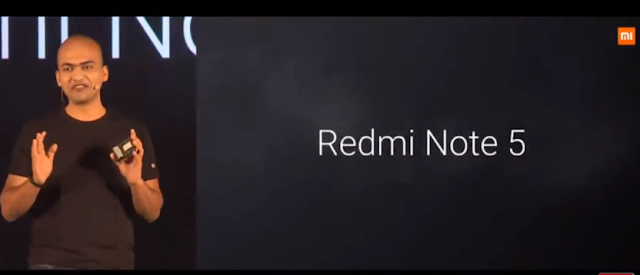 Xiaomi Redmi Note 5 Launch in India