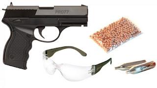 Contoh pistol CO2