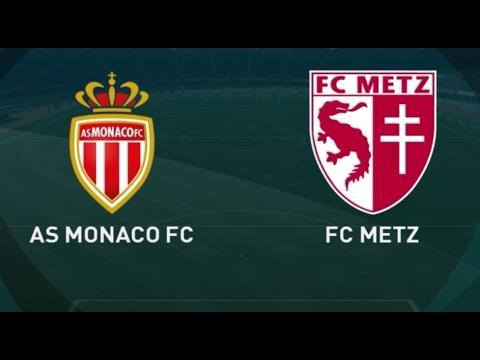 METZ VS MONACO HIGHLIGHTS AND FULL MATCH