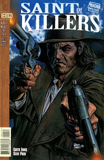 The Saint of Killers is armed with two Walker Colt revolvers