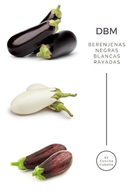 berenjenas-negras-blancas-moradas