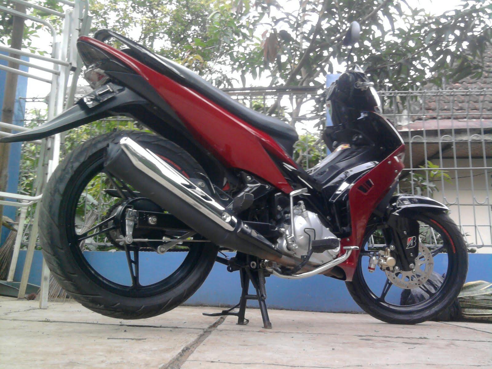 Foto Modifikasi Motor Yamaha Jupiter Mx Simple Modifikasi Motor