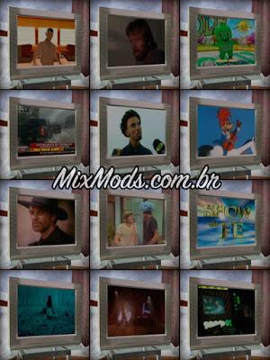 gta sa mod cleo assistir tv televisão animada trocar canais