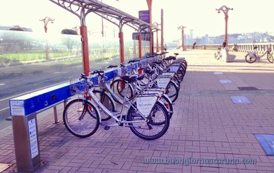 Bicicoruña Il Servizio Di Prestito Di Biciclette Buongiorno A Coruña