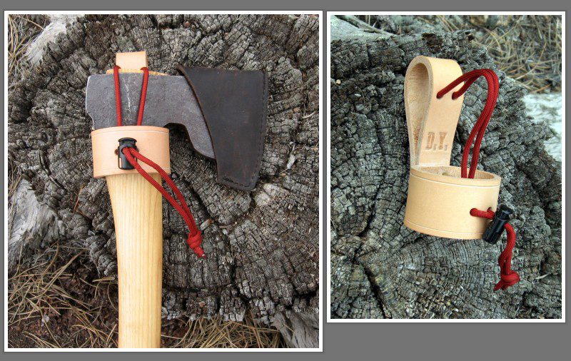 rocky mountain bushcraft gear review garrett wade leather axe holster