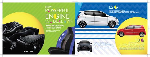 Brosur Toyota Agya Pekanbaru Riau