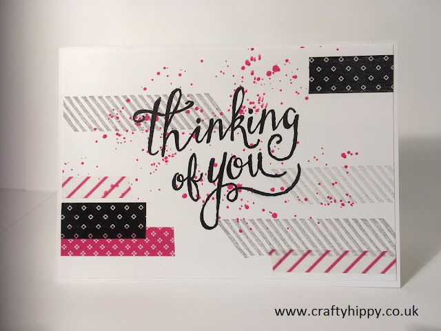 Pop of Pink Washi Tape, Pop of Pink Suite, Stampin' Up!
