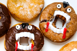 Vampire Donuts - How to Make this Easy Halloween Treat!