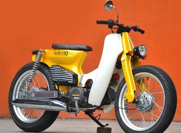 Motor Honda C70 Terbaru dan Terkeren
