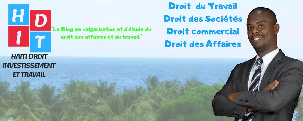 haiti droit investissement et travail  hdit   modele de