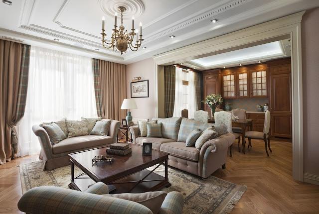 trần thạch cao nhà chung cư - Mẫu số 3