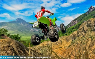 Games Extreme Stunt Quad Bike Racing App