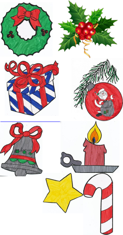 News with Naylors: Christmas Symbols: Scavenger Hunt