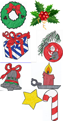 News with Naylors: Christmas Symbols: Scavenger Hunt