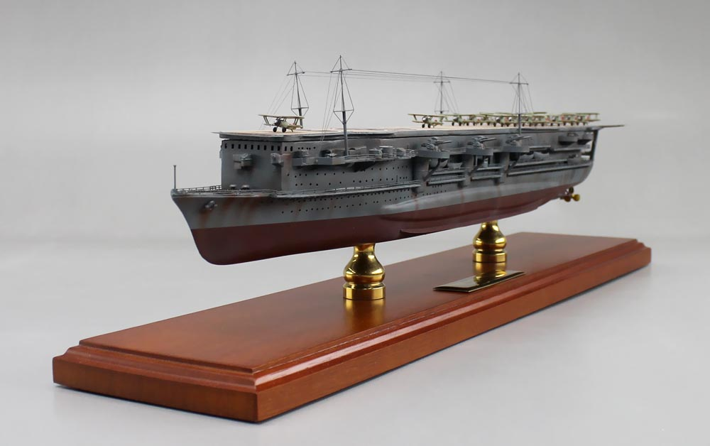 WW2 Japanese Aircrarft Carrier Model - IJN Ryujo | SD ...