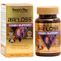 Viên bổ thận AgeLoss Kidney Support Tablets Nature's Plus