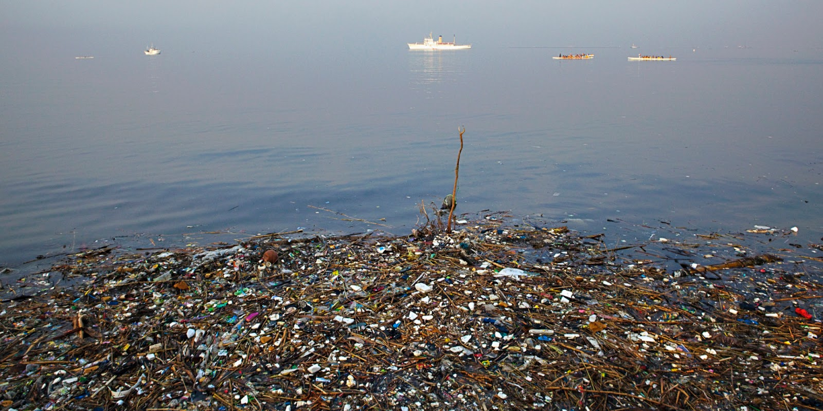 mother nature: Great Pacific garbage patch